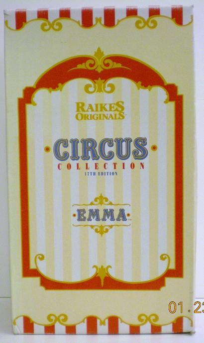 The 17th Edition Circus Collection from 1993