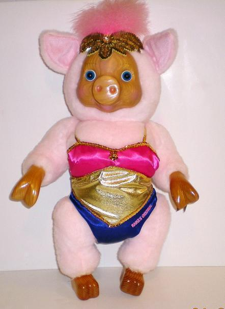 Robert Raikes Pig Violet 17th Edition Circus Collection Teddy Bears