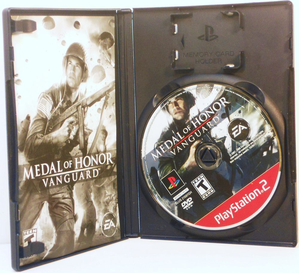 Image 2 of Medal of Honor Vanguard Playstation 2 video game 2007