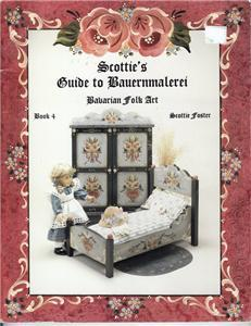 TOLE PAINTING PATTERNS SCOTTIES BAUERNMALEREI BAVARIAN
