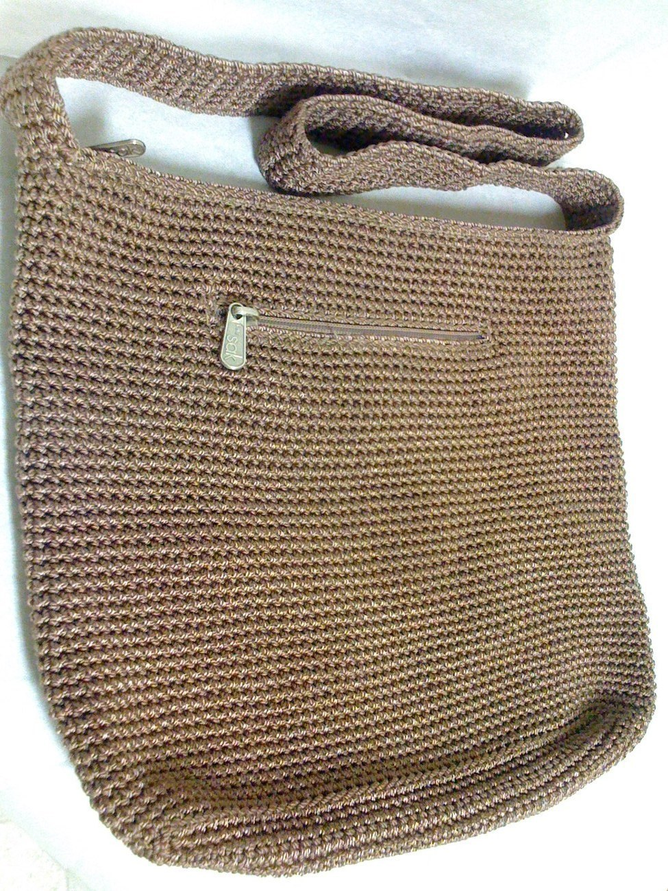 Le Sak Crochet Bags : THE SAK CLASSIC TAN CROCHET BAG Large - Handbags & Purses