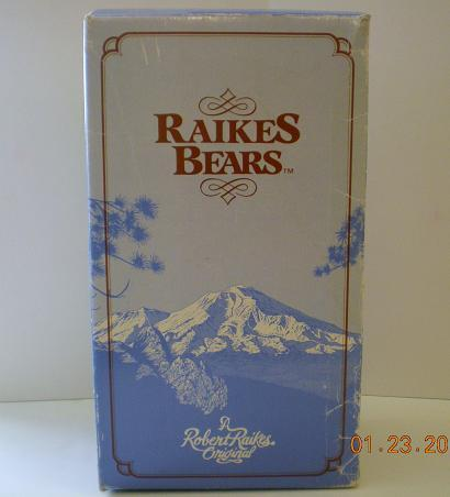 Image 3 of Robert Raikes Bear Zelda Ed 3 1986 Glamour Bears