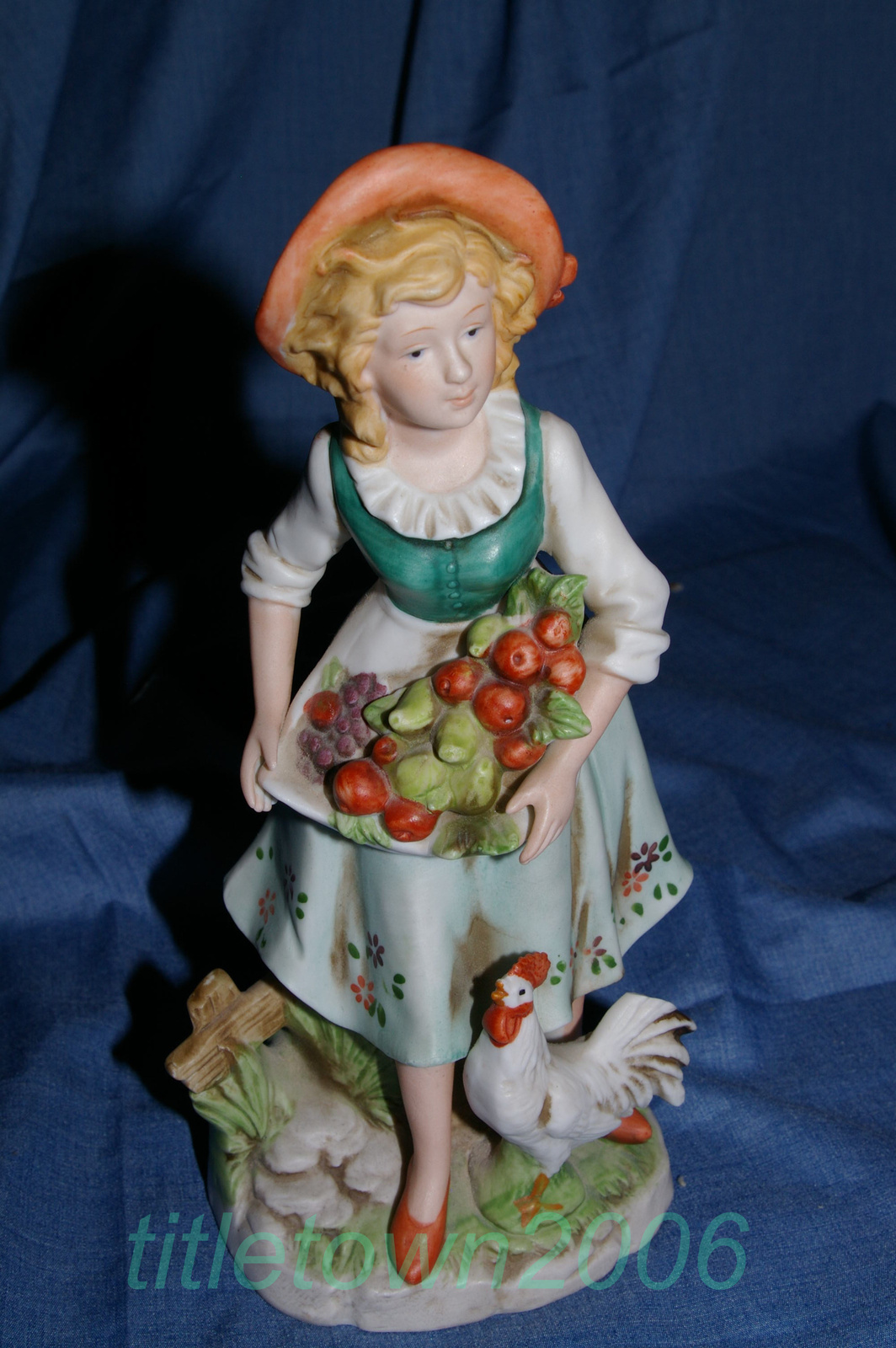 Homco Vintage Farm Girl Figurine 8881 Home And 50 Similar