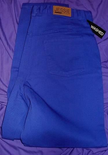 New! Cobalt Jeans Horse Show Clothes Plus Size 16WT  Bonanza