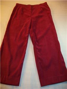 WOMEN J.M.COLLECT PETITE DRESS CAREER PANTS 14P FUSCHIA Bonanza