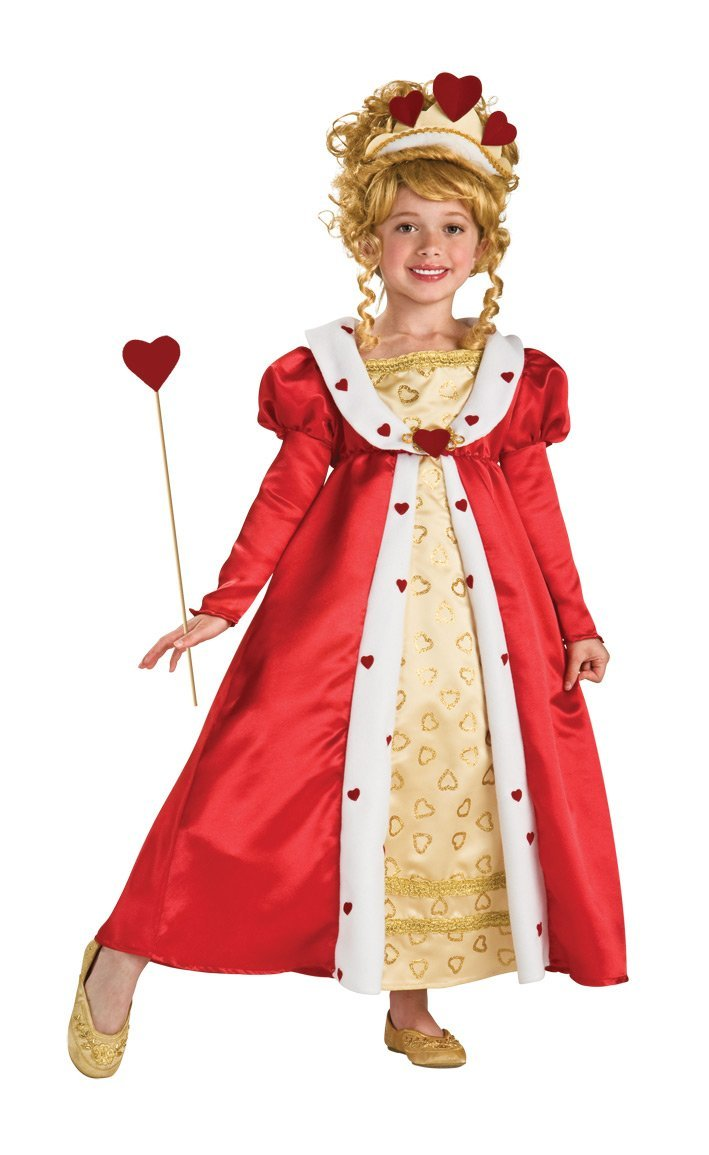 Image 0 of Rubie's Red Heart Princess Costume - Medium (8-10) or Large (12-14) - Rubies Lar