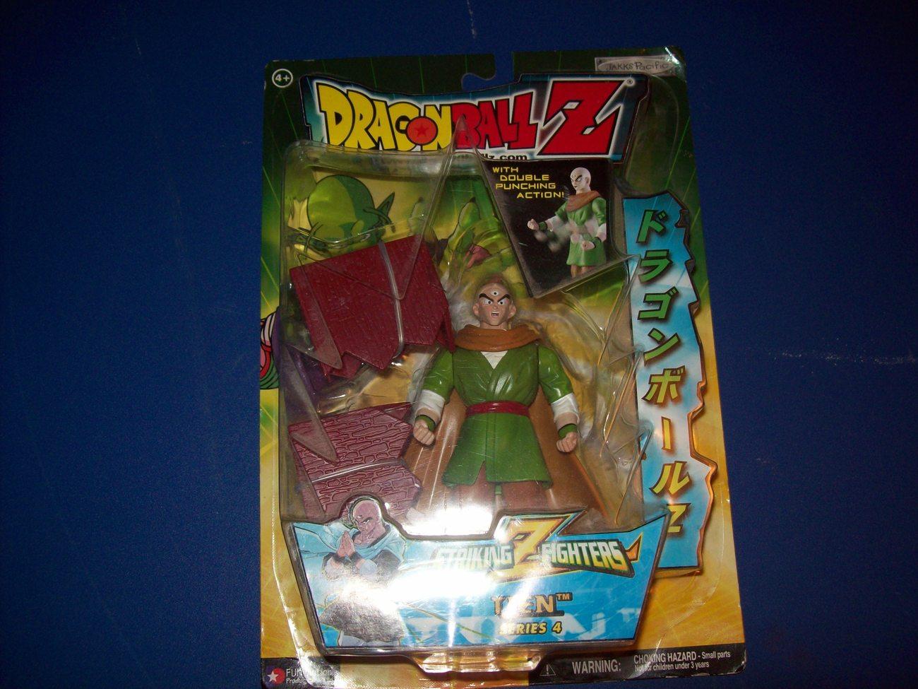 free ship tien striking z fighters dragonball z figure irwin toy new in box