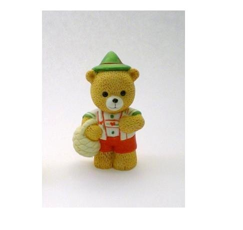 Image 3 of Bronson Figurine Bear Hans Yodels by Katharine Stevenson