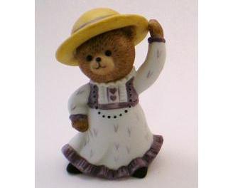 Image 0 of Bronson Figurine Bear Merry Matilda by Katharine Stevenson