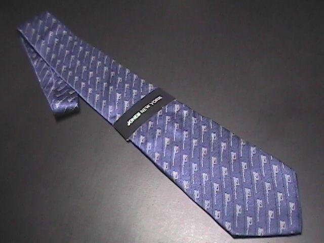 Jones New York Neck Tie Blues Completely Unused Still in Paper Sleeve with Tags  Jones New York