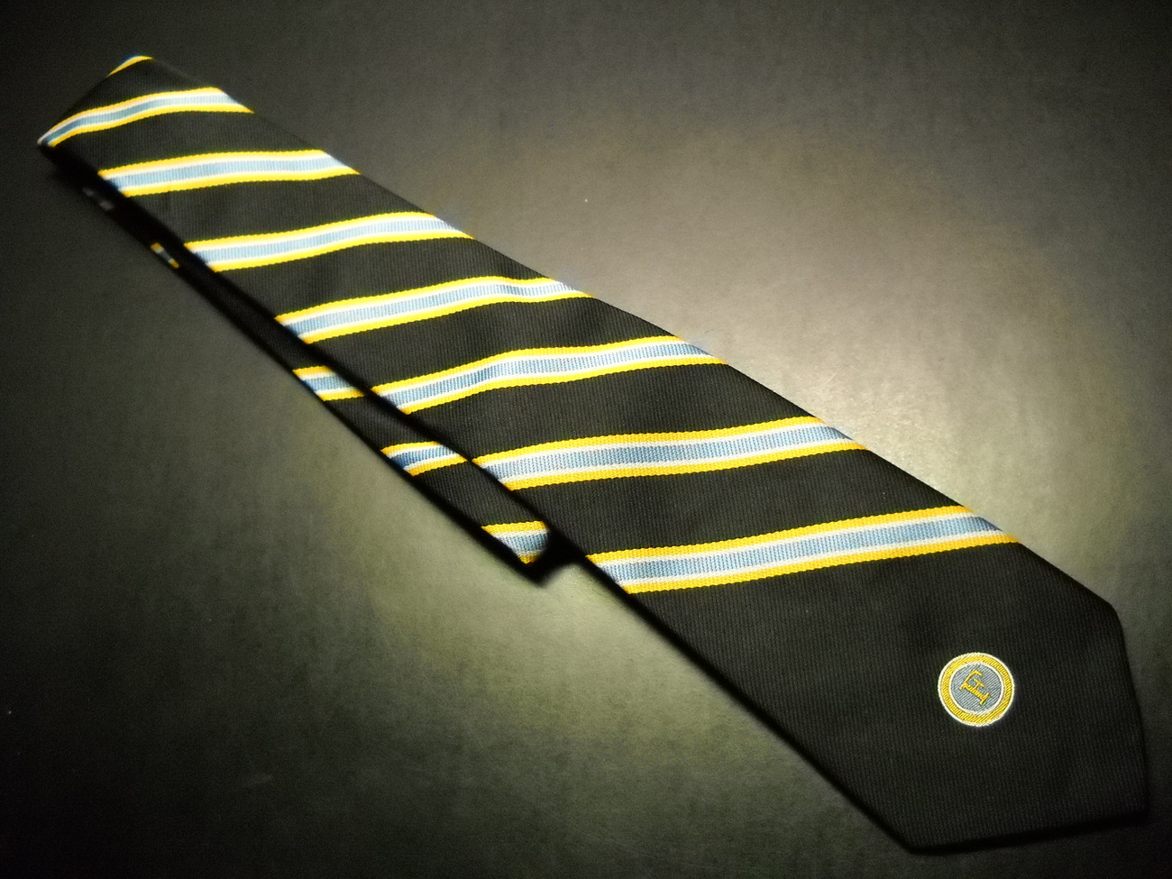 Loyal Order Of Moose Neck Tie Letter F Hartmarx Co. Fashionarie Apparel