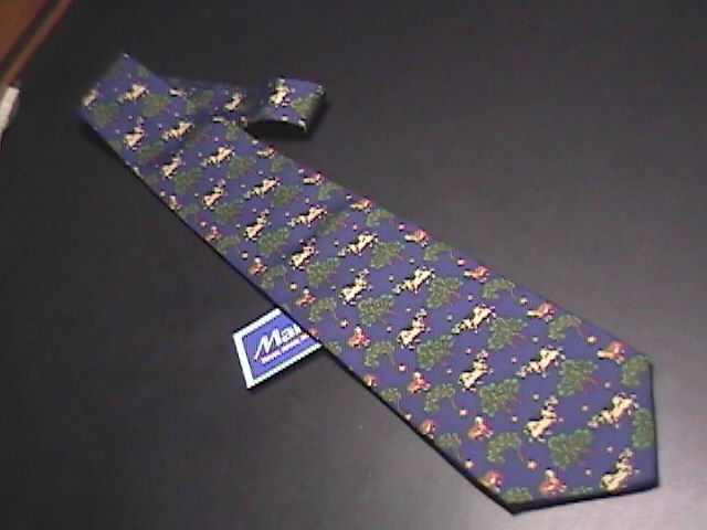 Allegora by M La Hart Silk Neck Tie Never Used and Unworn with Retail Tag Allegora by M La Hart