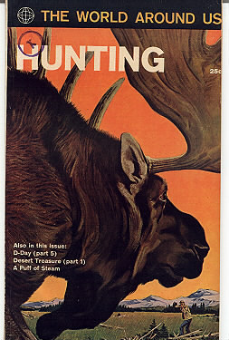'The Story of Hunting' Classics Illustrated vintage comic Bonanza