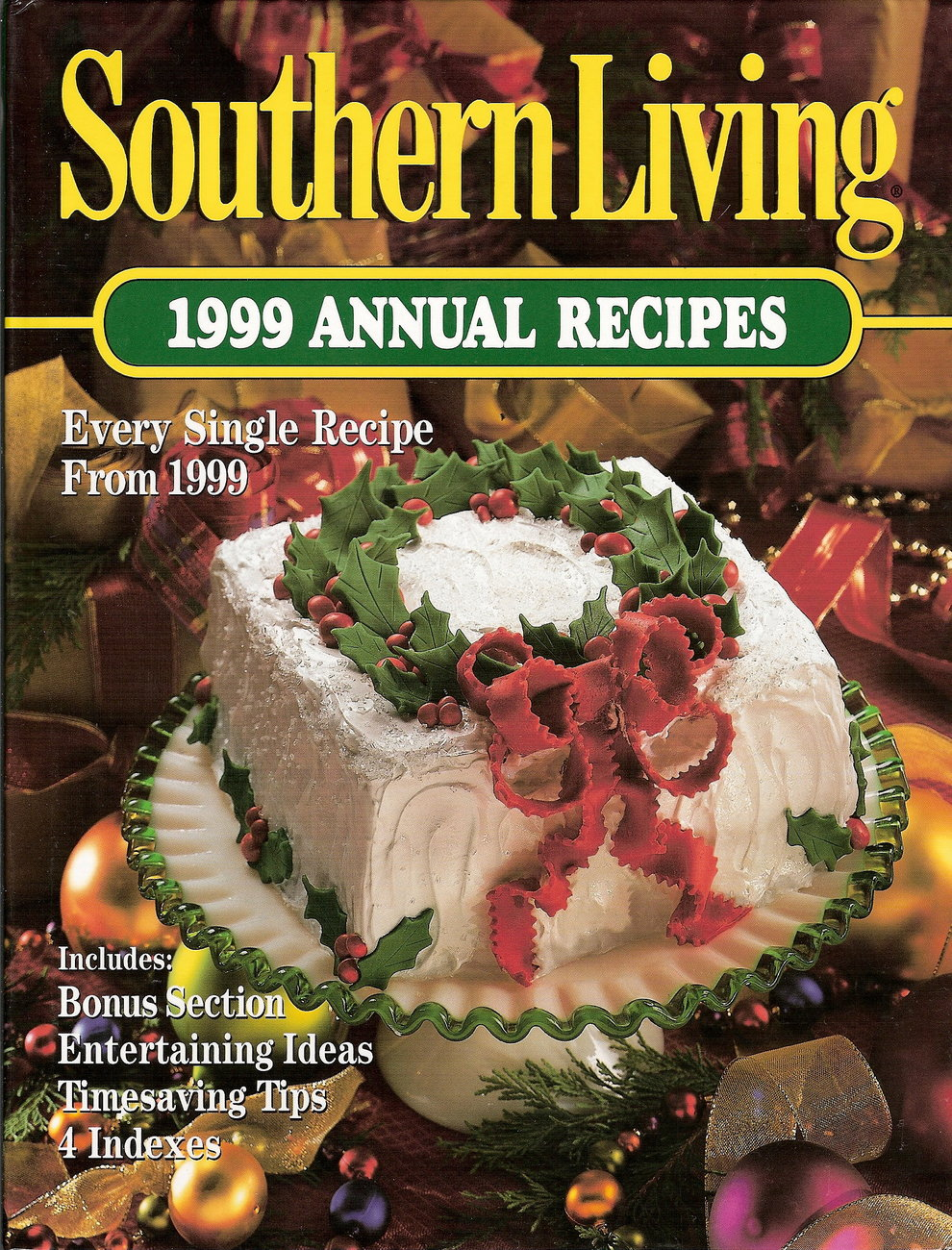 Southern Living Annual Recipes 1999 HC 1st print