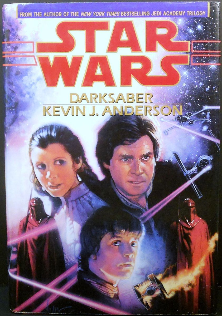 Star Wars Darksaber by Kevin J. Anderson 1995 HC 1st edition