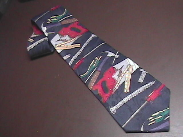 Home Improvement Mens Dress Neck Tie Titled Tool Time Touchstone Pictures Home Improvement