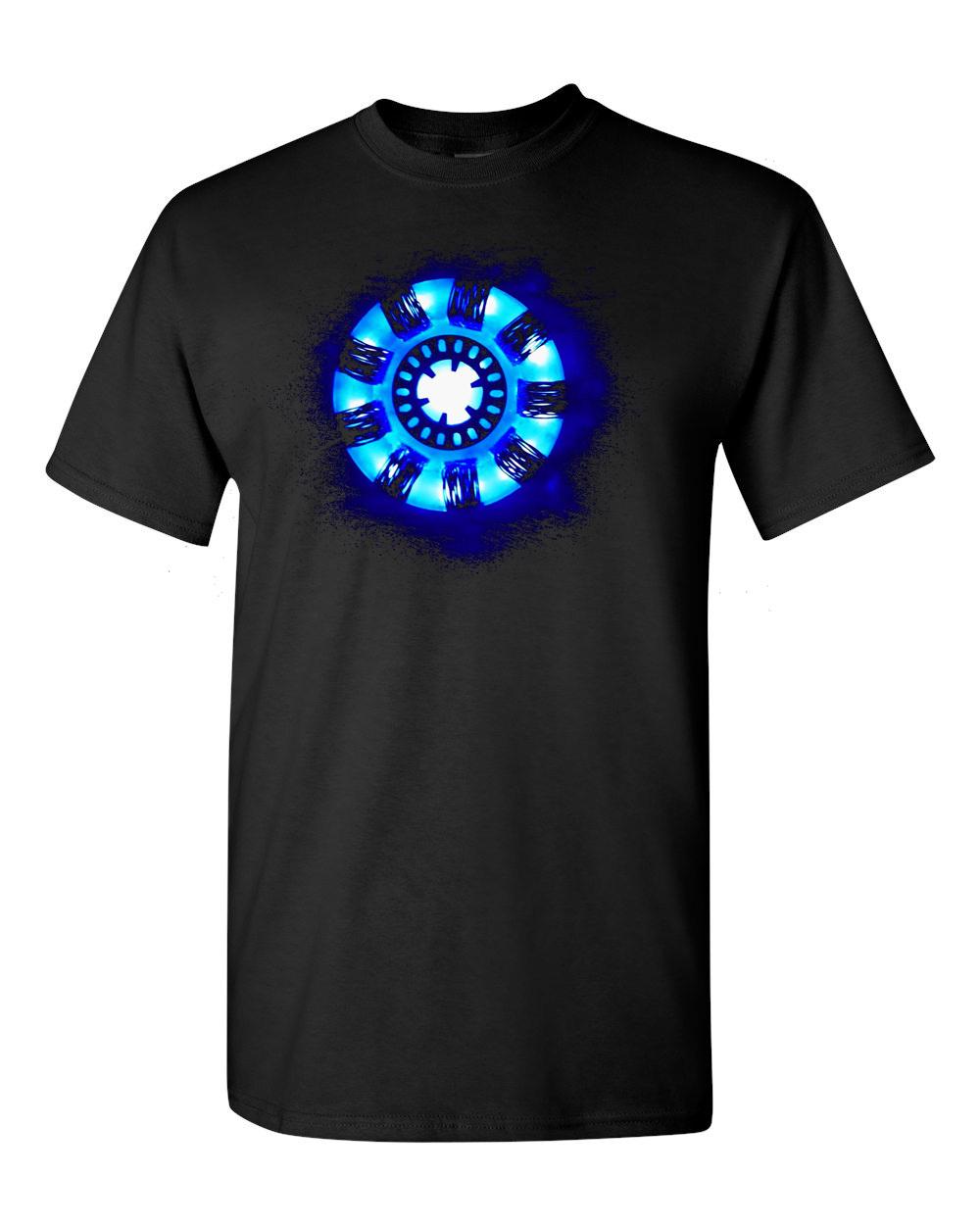 Iron Man 3 Arc Reactor Shirt Www Imgkid Com The Image