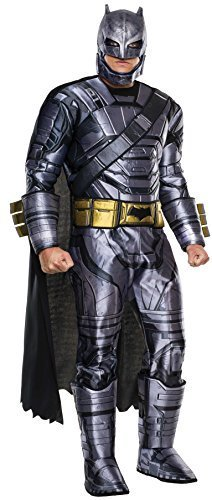 Image 0 of Rubie's Men's Batman v Superman: Dawn Of Justice Deluxe Batman Armored Costume,