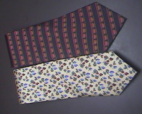 Cleveland Museum of Art Neck Ties Two Silk Ties Unknown