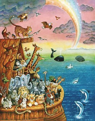 Noahs Ark Kids Room Decor Fun Animals LIGHT SWITCH PLATE Cover UNIQUE WALL ART