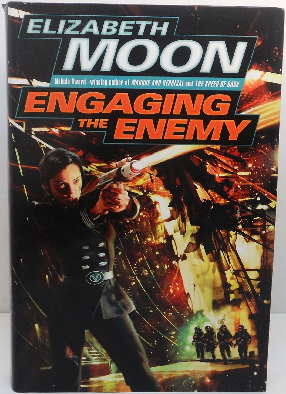Engaging the Enemy Vatta's War by Elizabeth Moon 2006 1st ed HC