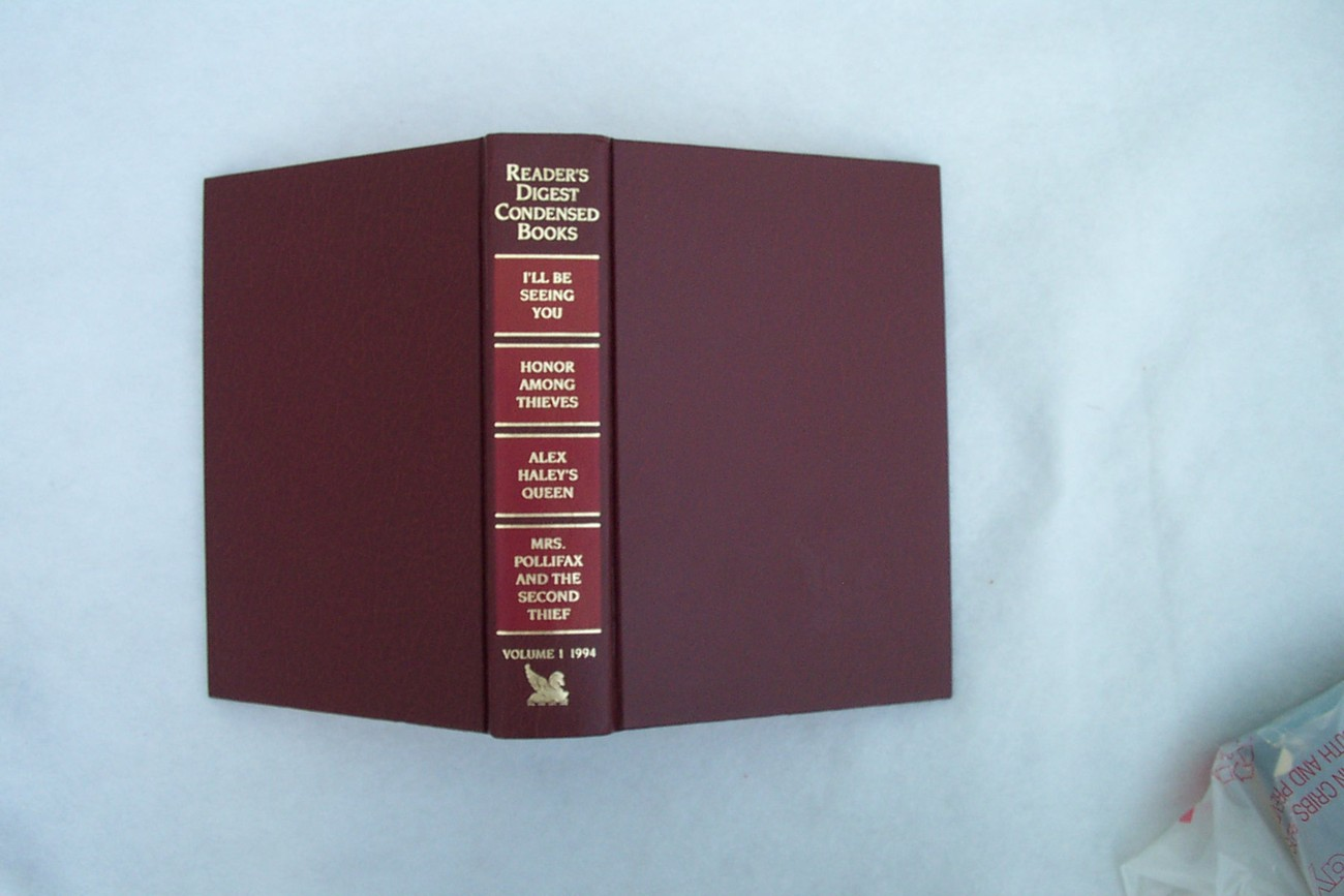Book Readers Digest Condensed Books Volume 1 1994