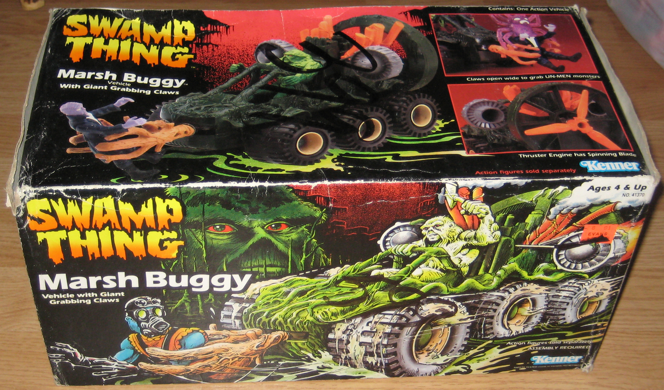 * Kenner Swamp Thing MARSH BUGGY Vehicle MIB