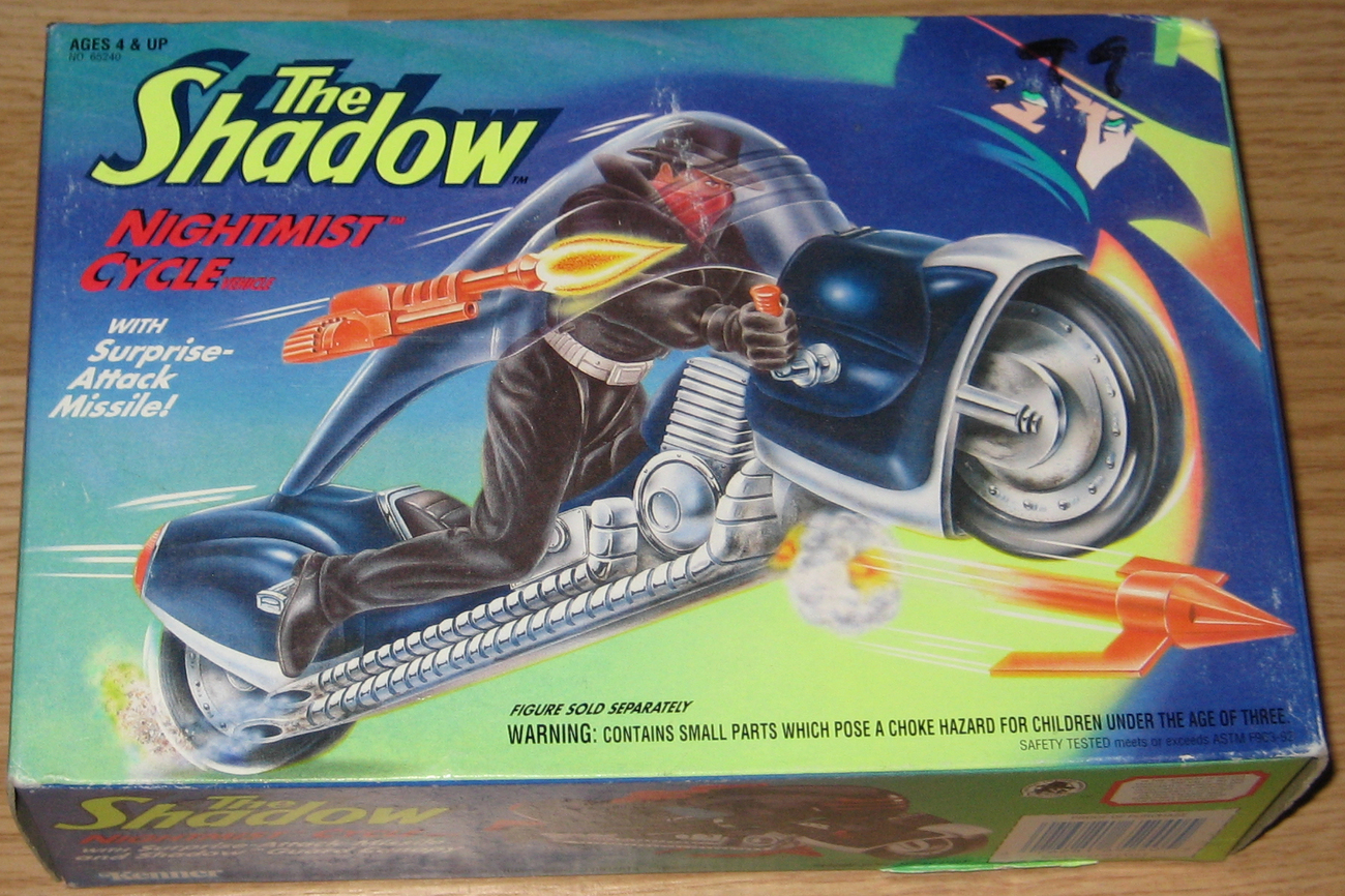* THE SHADOW Nightmist Cycle MIB