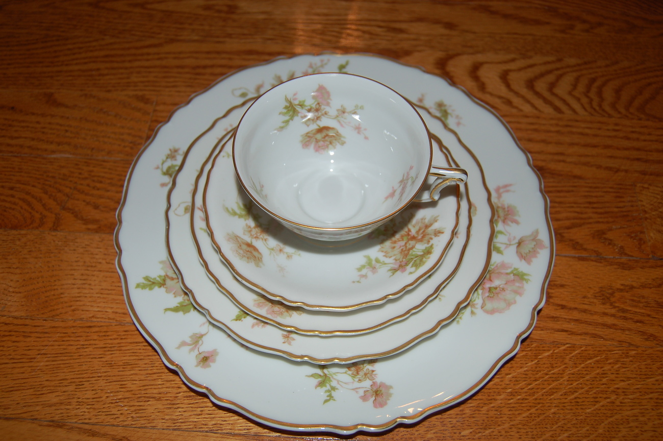 Limoges Place Settings 5 Piece Place Setting And