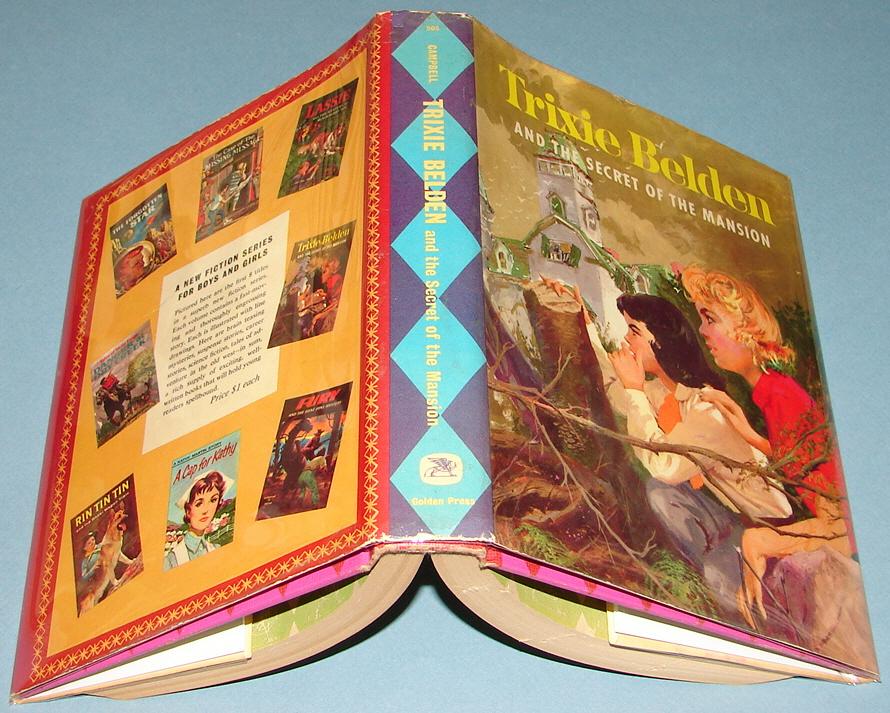 Trixie Belden 1 to 34 complete volume set-paperback books Golden press/