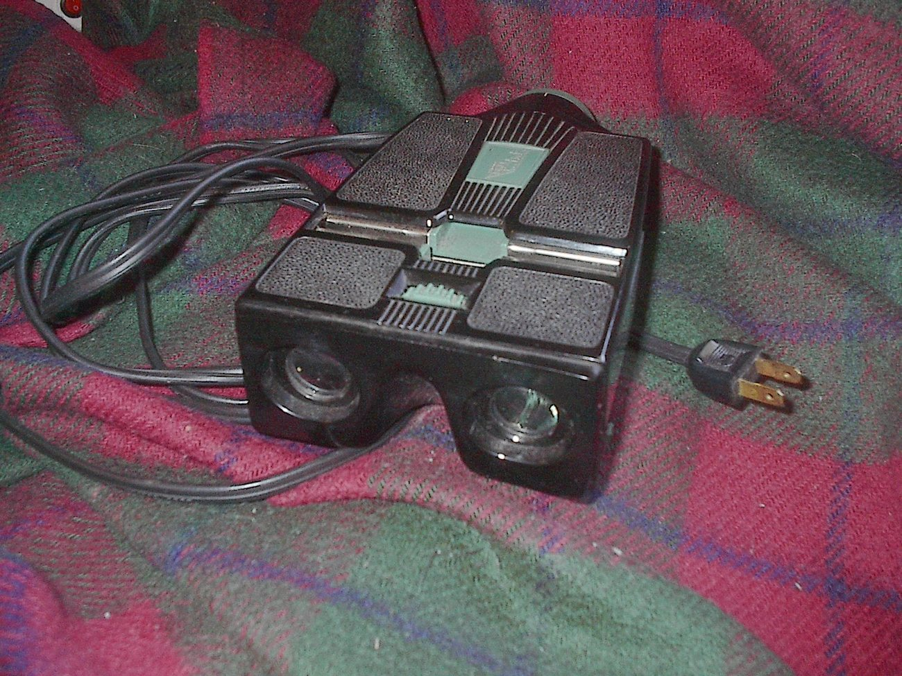 Realist stereo viewer 35mm camera slide David White