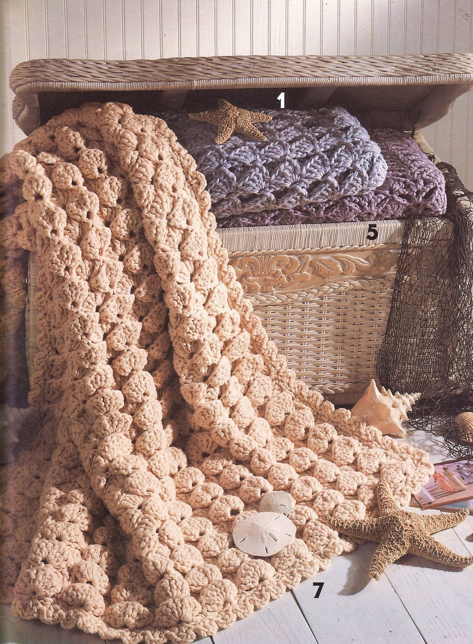 Quick Amp Easy Shell Afghans Crochet Patterns Book Afghans