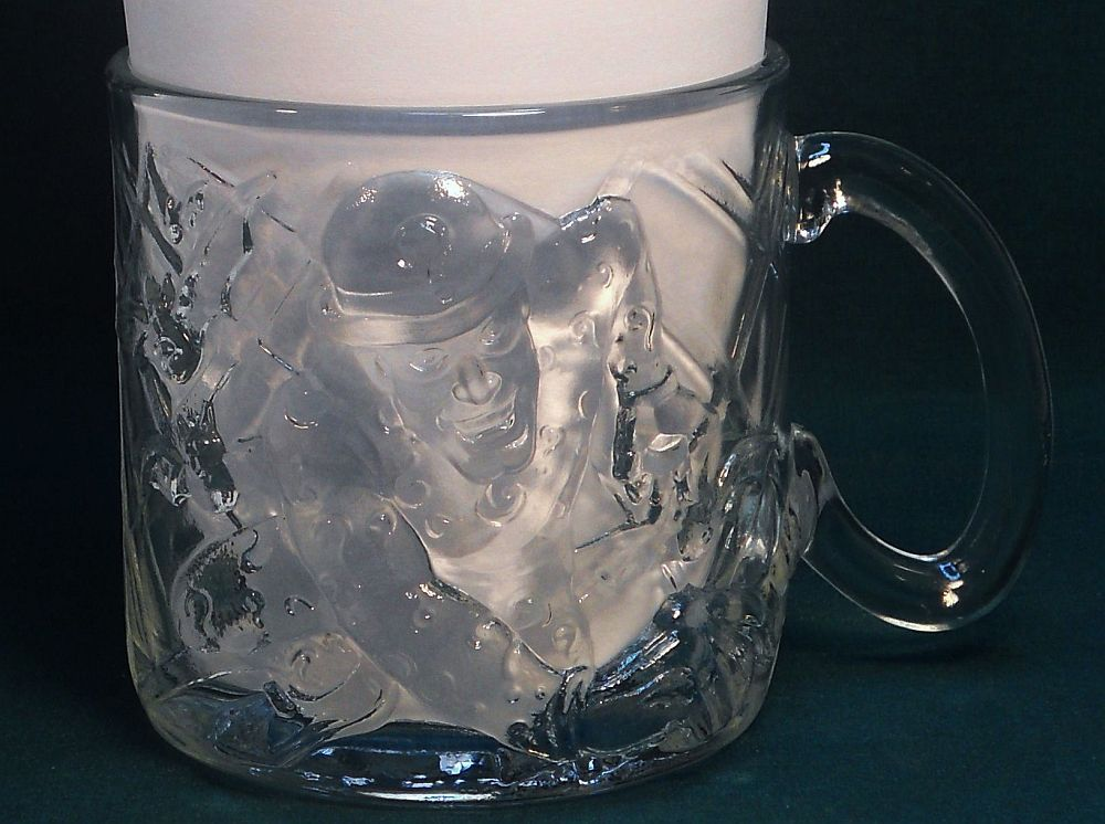 Image 2 of Batman Forever The Riddler Mug McDonald's glass 1995