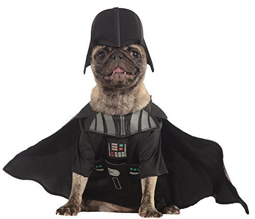 Image 0 of Rubies Costume Star Wars Collection Pet Costume, Darth Vader