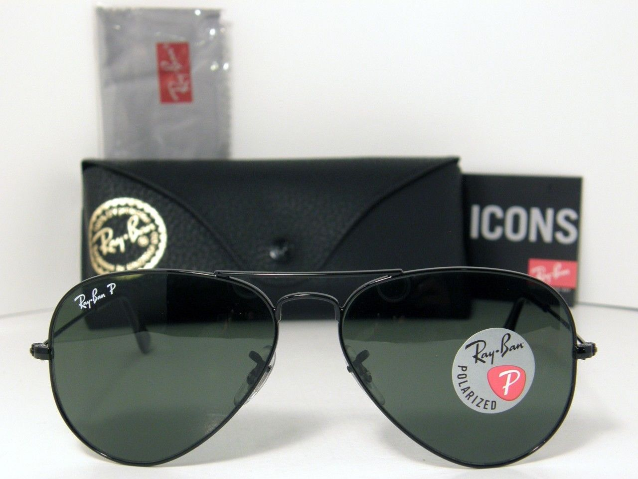 ray ban aviator polarized sunglasses x6c8  ray ban rb3025 aviator large metal polarized 002/58 price