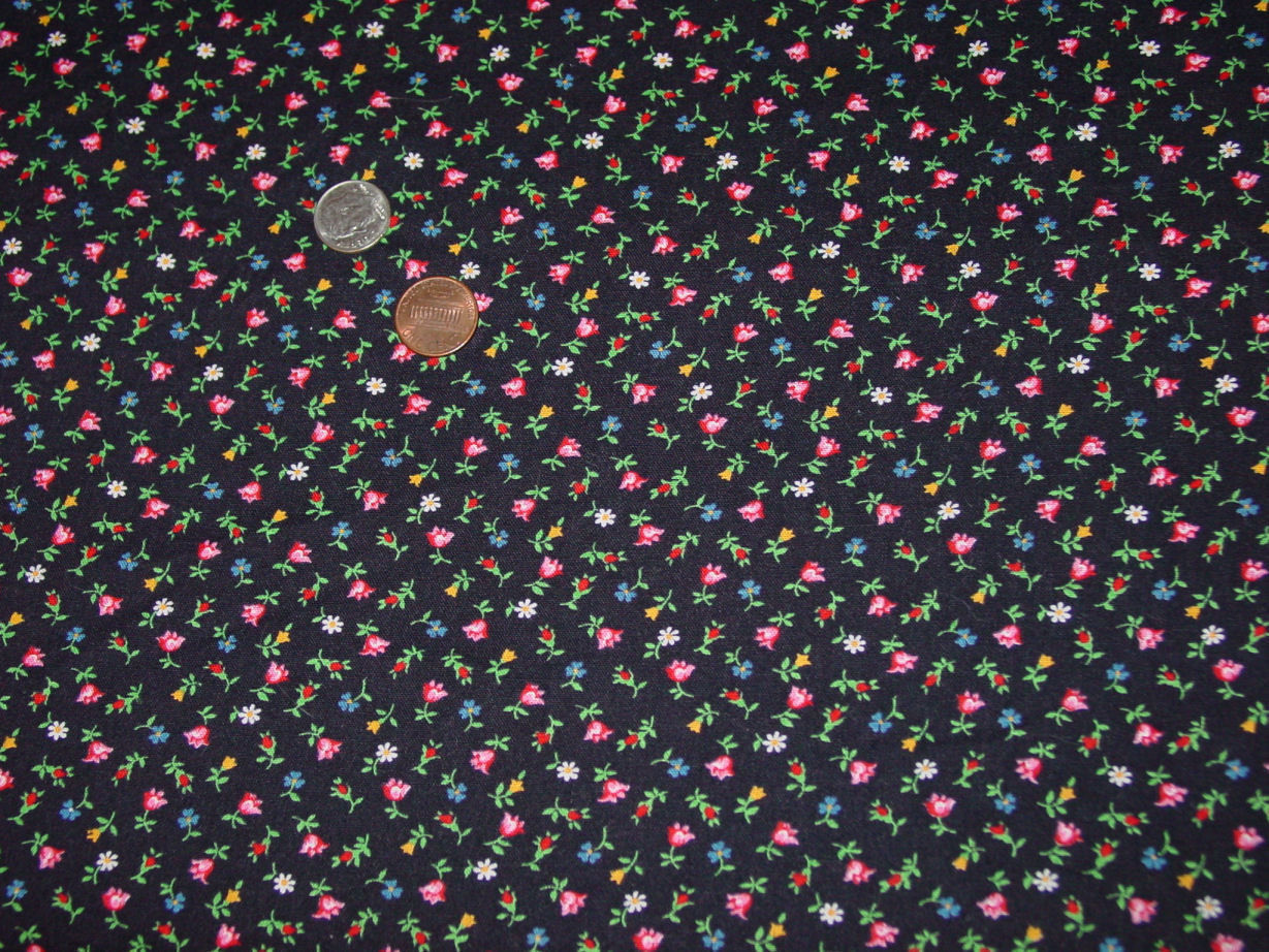 Vintage VIP Cranston Tiny Flower Print And 50 Similar Items