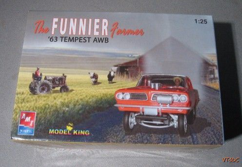 ~ 1963 Pontiac Tempest AWB - 1:25 scale Plastic Model Kit - MIB