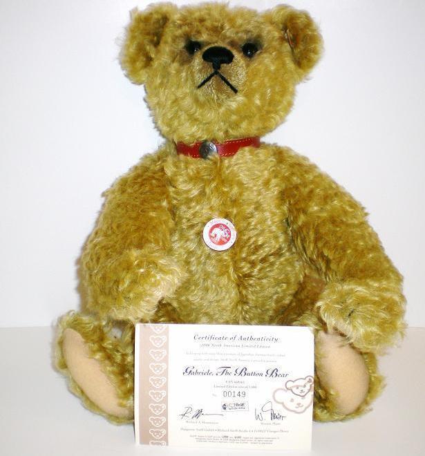 Gabriele North American Exclusive Steiff Teddy Bear