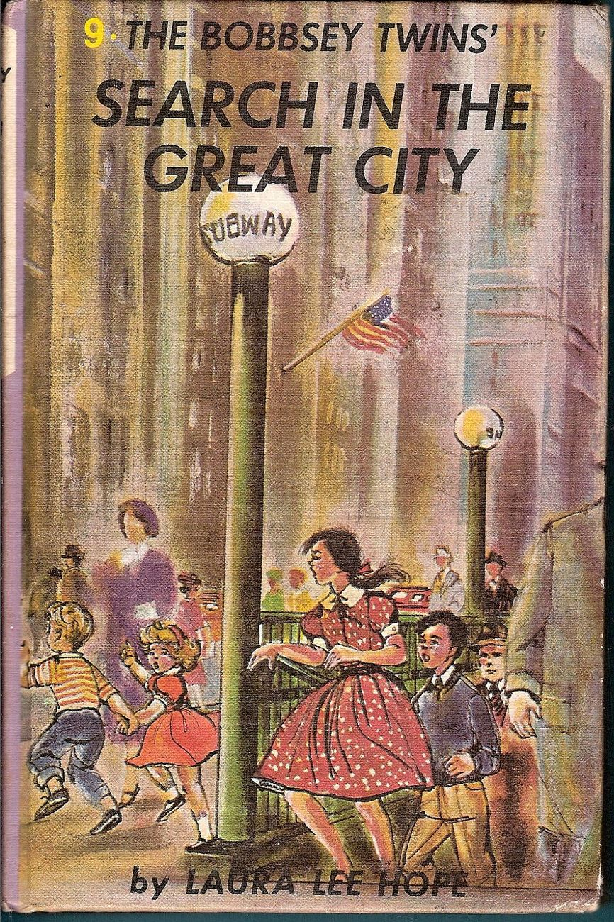 Image 0 of The Bobbsey Twins Search in the Great City #9 Laura Lee Hope