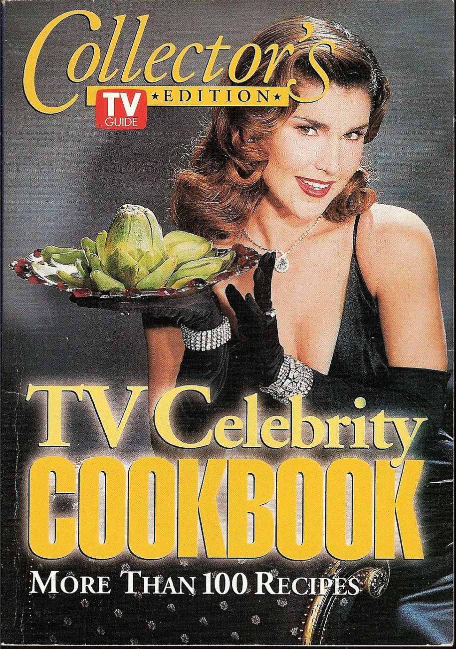TV Guide Collector's Edition TV Celebrity Cookbook by Bill Brioux 1994