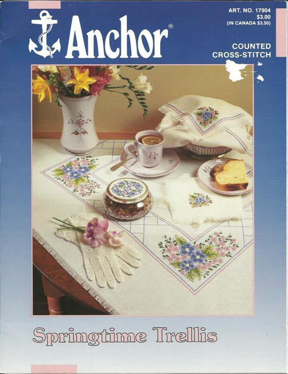 Anchor Craft Patterns Cross Stitch Pattern (1980s)