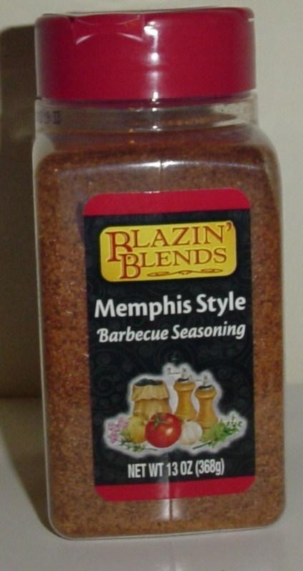 Blazin blends Memphis Style Barbecue Seasoning 6 ct
