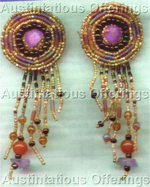 Bronzed Southwest Earring Set Card Beading Kit Ann Benson Ann Benson Ltd