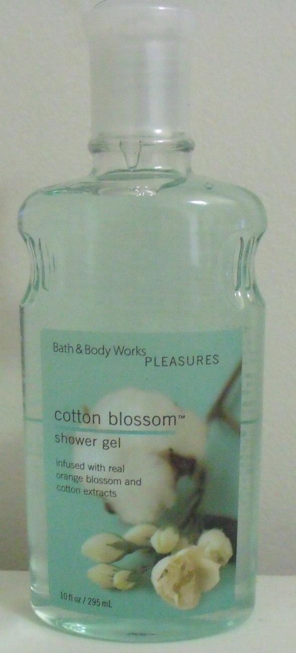 Bath and Body Works New Cotton Blossom Shower Gel 10 oz Bath & Body Works