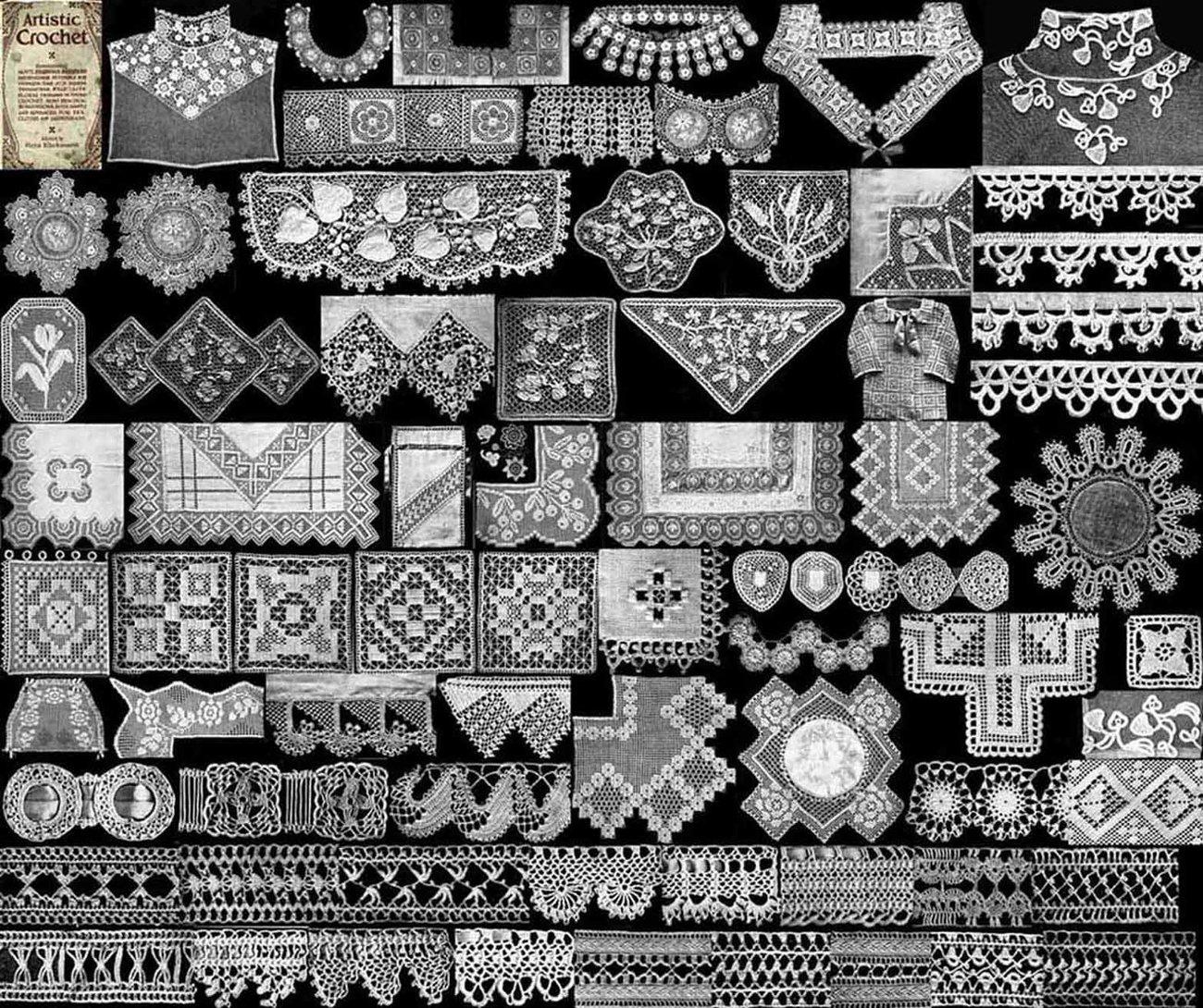 Irish Lace Crochet Free Pattern Crochet Guild