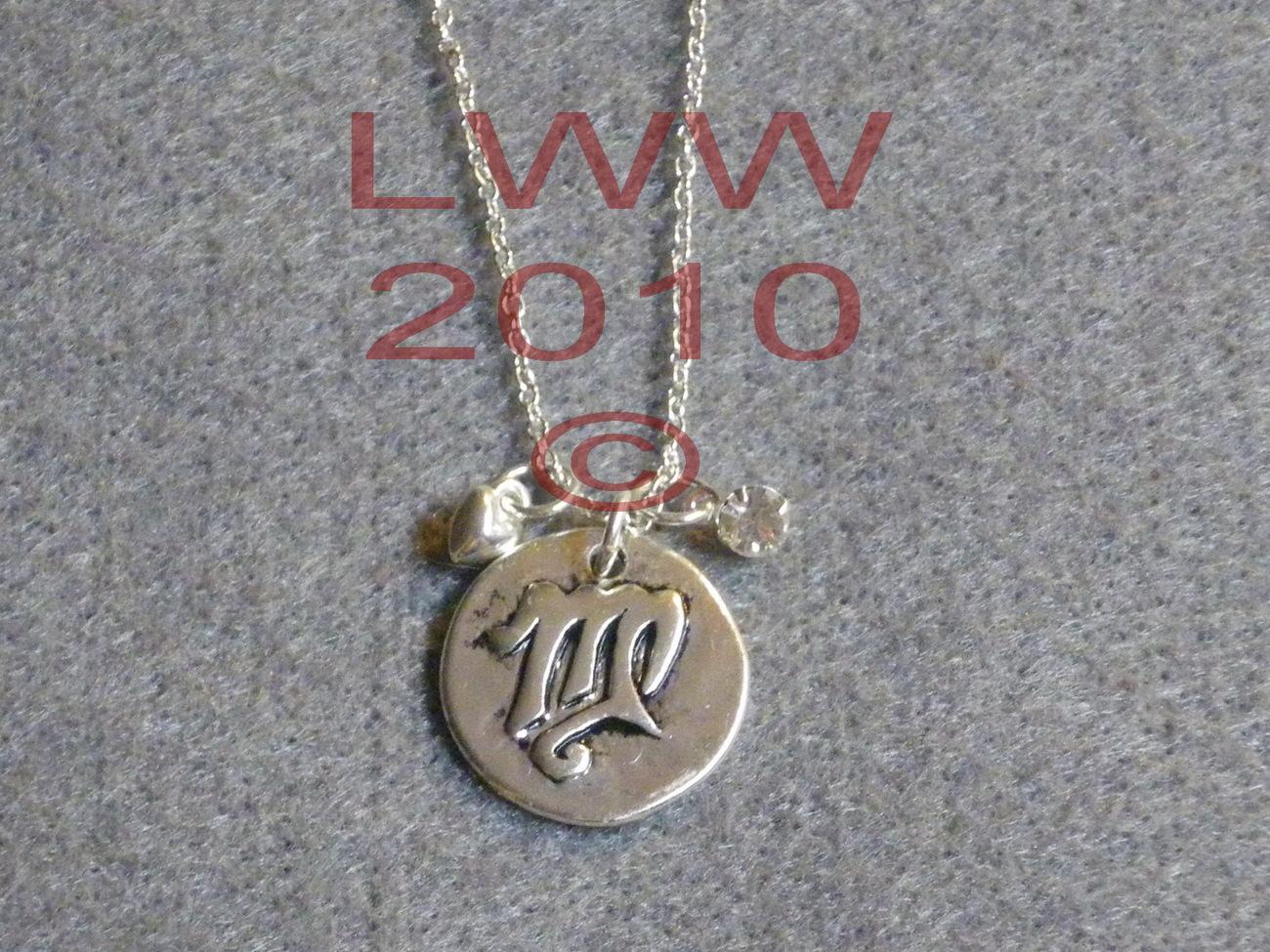 Virgo Zodiac Charm Necklace Pendant with Chain New Bonanza
