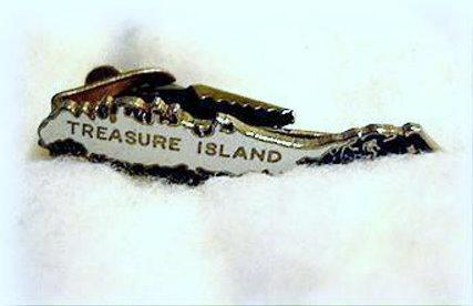 Treasure Island Florida Men's Tie Clip/Clasp Bonanza
