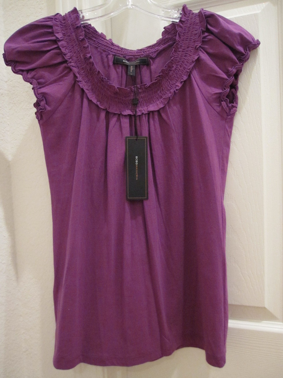 NWT BCBG Purple Top - size XS Other
