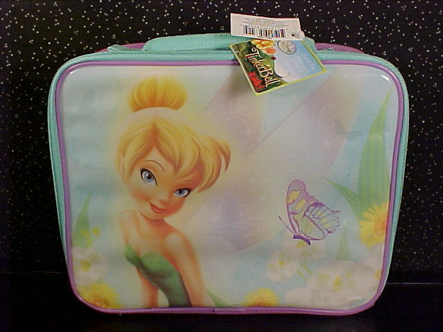 *TINKER BELL*SOFT SIDE LUNCH BAG*TOTE*BOX*NEW WITH TAG* Bonanza