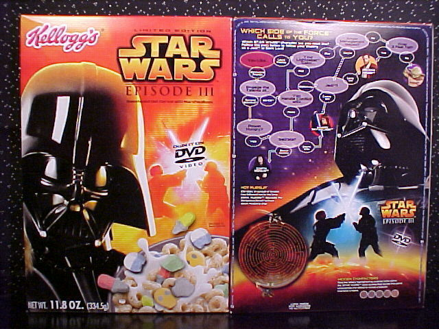 *STAR WARS*CEREAL*BOX*LTD ED*R2-D2*C-3PO*YODA*VADER* Bonanza